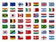 Mix Nationalflaggen