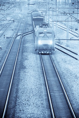 modern freight train
