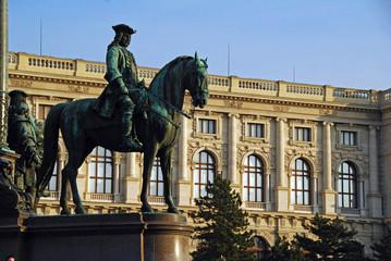 Maria Theresia Platz Monument Wien