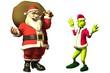 Santa gegen Grinch