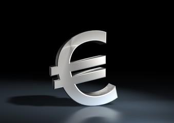 Euro silber 3D