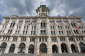 City hall, Trieste, Italy