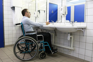 Handicap toilette