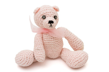 Homemade teddy bear