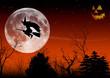 Halloween Hexenflug