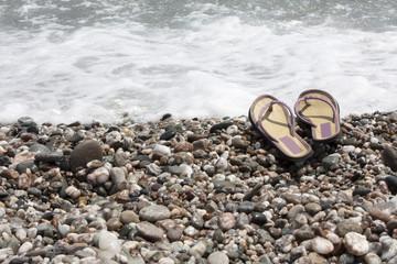 estate spiaggia mare e riflessione
