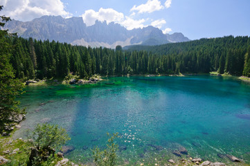 Lake Carezza - Dolomites, Italy