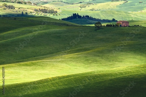 Hilly landscape of Tuscany © pitrs