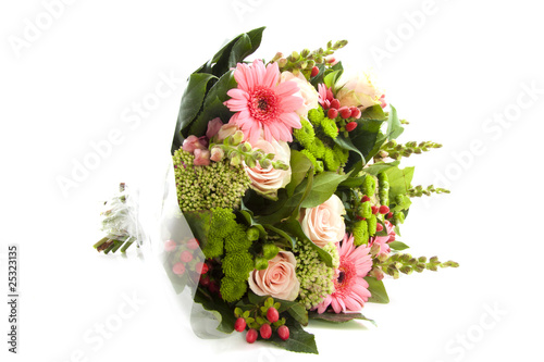 Papiers peints Gerbera Lovely bouquet