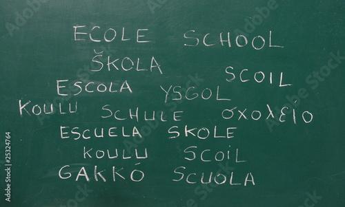 école multilangue