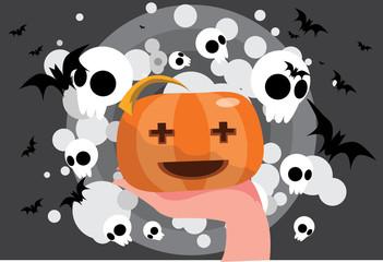 The pumpkin and spirits