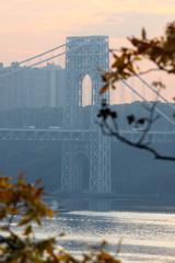 Washington bridge view