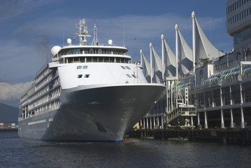 Cruise ship at Canada Place