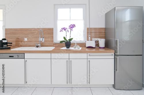 Leinwanddruck Bild Küchenzeile