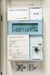 Stromzähler für Solarstrom, electricity meter