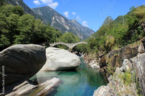Ponte Dei Salti / Lavertezzo / Switzerland