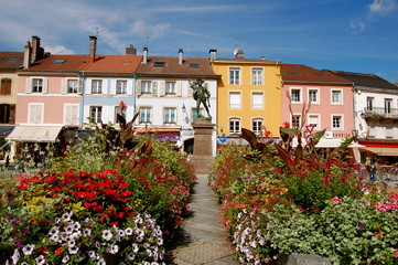 Place vosgienne, Remiremont