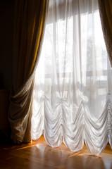 curtains create comfort