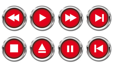 Red Player Button