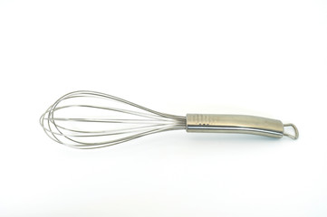 whisk aluminium horizontal position