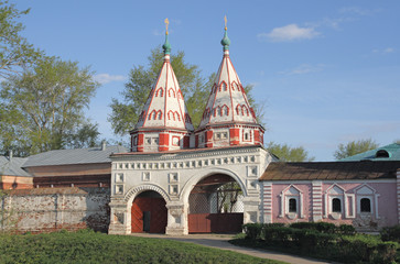 Holy Gate (1688). Suzdal. Golden Ring, Russia