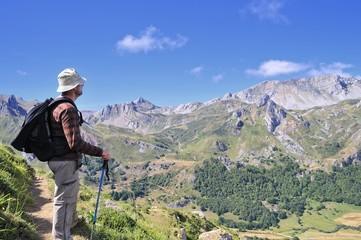 En ruta hacia Lago del Valle,Somiedo,Asturias
