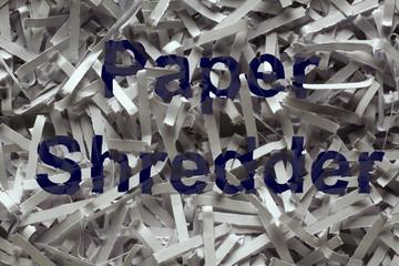 sheredded paper