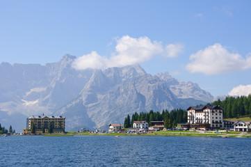 Lake Misurina and Sorapiss - Dolomites, Italy