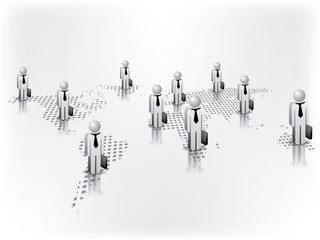 Global Business Network on the world