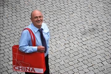 Geschäfte mit China