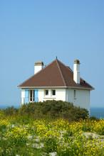 Maison sur les falaises du Cap Gris Nez