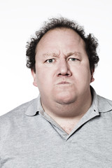homme obèse humiliation offense