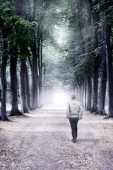 Spaziergang ins Ungewisse