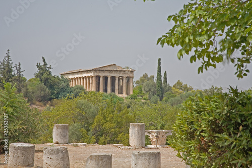 Ancient Agora in Athens Greece