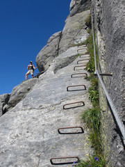 Klettersteig - Via ferrata