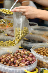 Oliven am Markt