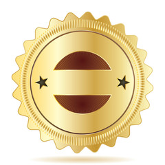 Vector Guarantee Badge Template