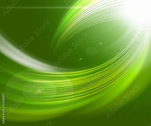 Leinwandbild Motiv green abstract backgrounds