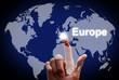 "Touch screen Welt ""Europe"""