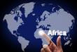 """Touch screen Welt """"Africa"""""""