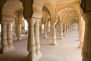 Interior, Amber palace , Jaipur city,Rajasthan
