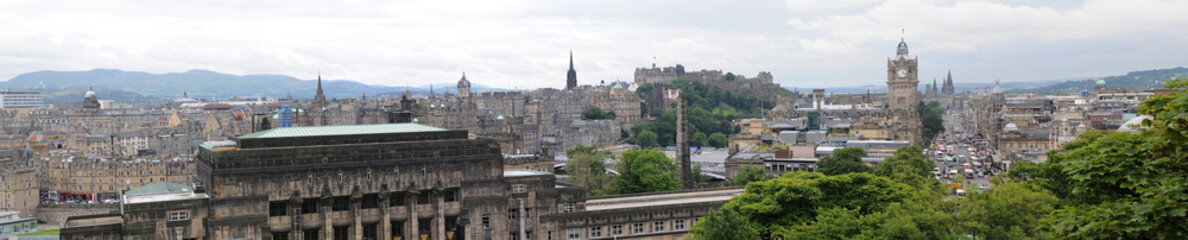 Edinburg, View from Calton Hill, Scotland