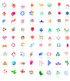 Fototapety 72 different colorful vector icons (part1)