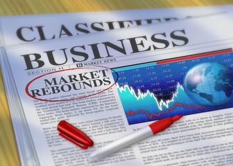 Market Rebounds