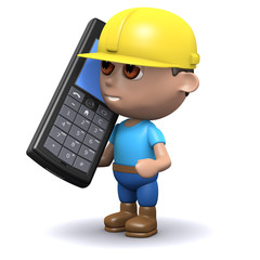 3d Builder talks on mobile phone