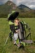 Bébé fait de la randonnée