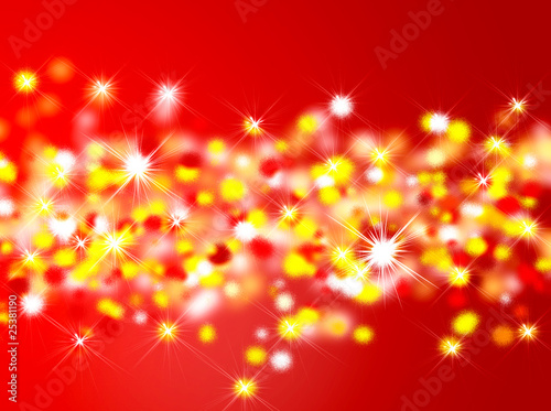 Abstract background - xmas lights