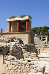Ruins of city of Knossos