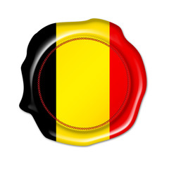 belgium button, seal, stamp, blank flag