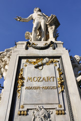 Mozart - Denkmal, Wien